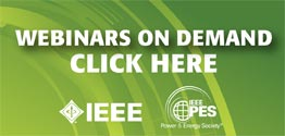 IEEE PES Webinars On Demand