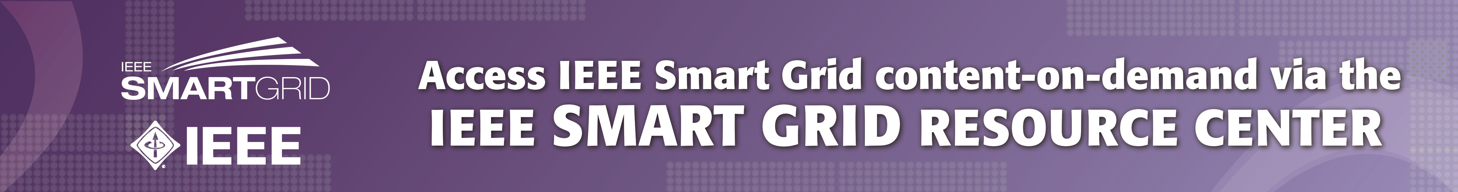 IEEE Smart Grid Resource Center