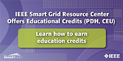 Education Credits (PDH, CEU) available on the IEEE SG Resource Center