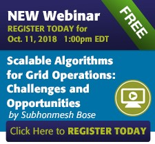 NEW Webinar - Scalable Algorithms for Grid Operations