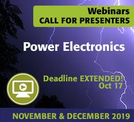 Call for Presenters: Power Electronics
