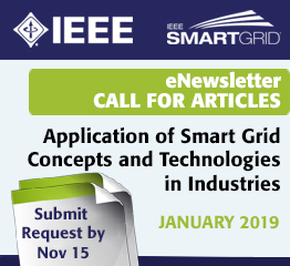 eNewsletter Call for Articles - Application of Smart Grid Concepts and Technologies in Industries