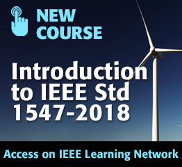 New Course: Introduction to IEEE Std 1547-2018