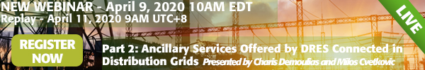 April 2020 Ancillary Services Webinar