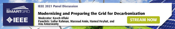 July 23rd Panel, Modernizing and Preparing the Grid for Decarbonization