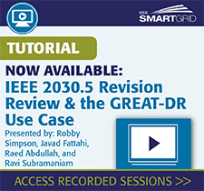 IEEE Smart Grid tutorial recorded sessions
