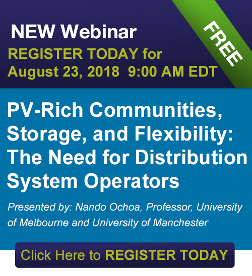 IEEE Smart Grid Webinar - PV-Rich Communities, Storage, and Flexibility: The Need for Distribution System Operators